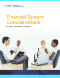 Financial System Considerations in IFRS Conversion Projects
