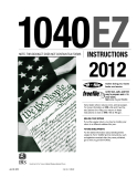 1040EZ NOTE: THIS BOOKLET DOES NOT CONTAIN TAX FORMS