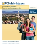 Fundamental Studies in   Business and Entrepreneurship 2012-2013