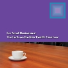 For Small Businesses:   The Facts on the New Health Care Law