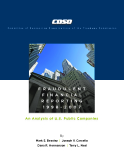 FRAUDULENT FINANCIAL REPORTING 1998-2007: An Analysis of U.S. Public Companies
