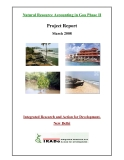 Natural Resource Accounting in Goa Phase II: Integrated Research and Action for Development,  New Delhi