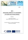 WP3  RISK-BASED APPROACH TO ASSESSMENT  OF WATER POLLUTION SOURCES