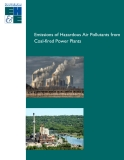 EMISSIONS OF HAZARDOUS AIR POLLUTANTS FROM COAL-FIRED POWER PLANTS