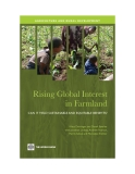 Rising Global Interest   in Farmland - CAN IT YIELD SUSTAINABLE AND EQUITABLE BENEFITS?