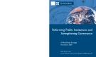Reforming Public Institutions and Strengthening Governance: A World Bank Strategy November 2000