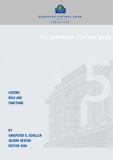 THE EUROPEAN CENTRAL BANK: HISTORY, ROLE AND FUNCTIONS