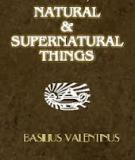 Of Natural and Supernatural Things