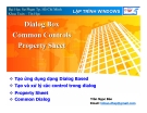 LẬP TRÌNH WINDOWS - Dialog Box Common Controls Property Sheet