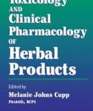 Toxicology and Clinical Pharmacology of Herbal Products