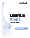 USMLE Step 1 Lecture Notes: Pharmacology