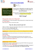7 Rules For Excellent English