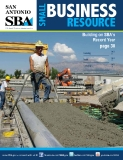 SAN  ANTONIO - Building on SBA's  Record Year