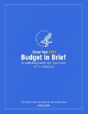 FISCAL YEAR 2013 BUDGET IN BRIEF STRENGTHENING HEALTH AND OPPORTUNITY FOR ALL AMERICANS