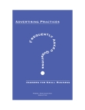 Advertising Practices FREQUENTLY ASKED QUESTIONS Answers for Small Business