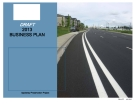 DRAFT  2013  BUSINESS PLAN: Appleway Preservation Project