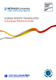 HUMAN RIGHTS TRANSLATED: A Business Reference Guide
