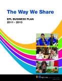 The Way We Share EPL BUSINESS PLAN 2011 - 2013