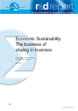 Economic Sustainability The business of staying in business