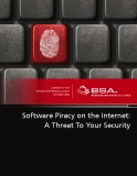 Software Piracy on the Internet: A Threat To Your Security