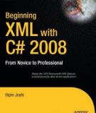 Beginning XML with C# 2008 From Novice to Professional
