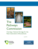 The Pathways Commission Charting a National Strategy for the Next Generation of Accountants
