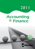 Accounting & Finance 2011 EDUCATION