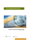 The Greenhouse Gas Protocol: A Corporate Accounting and Reporting Standard