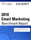 2010 Email Marketing Benchmark Report