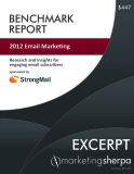 2012 Email Marketing - Research and insights for engaging email subscribers