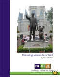 Marketing Lessons from Walt By Drew McLellan