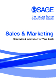 Sales & Marketing Creativity & Innovation for Your Book