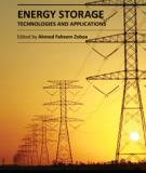 ENERGY STORAGE – TECHNOLOGIES AND APPLICATIONS