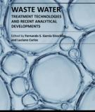 WASTE WATER TREATMENT TECHNOLOGIES AND RECENT ANALYTICAL DEVELOPMENTS