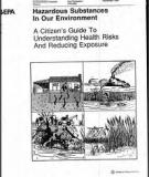 RECOMMENDATIONS TO ECE GOVERNMENTS ON THE  PREVENTION OF WATER POLLUTION FROM HAZARDOUS SUBSTANCES