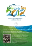 Water and Food Security 22nd March 2012