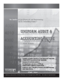 UNIFORM AUDIT & ACCOUNTING GUIDE 2010 EDITION
