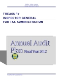 TREASURY   INSPECTOR GENERAL  FOR TAX ADMINISTRATION 2012