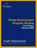 Photo Enforcement Program Review: Audit Department
