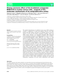 Báo cáo khoa học: Strong cytotoxic effect of the bradykinin antagonist BKM-570 in ovarian cancer cells – analysis of the molecular mechanisms of its antiproliferative action