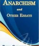 Sách: Anarchism and Other Essays