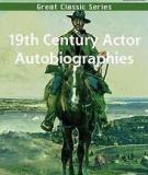 19th Century Actor Autobiographies