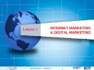 Bài giảng Internet Marketing và Digital Marketing