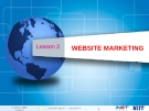 Lesson 2 - Website Marketing