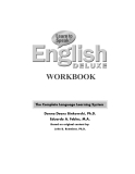 Learn To Speak English Deluxe workbook