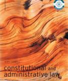 Constitutional and Administrative Law Fifth Edition