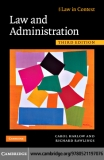 Law and Administration Third Edition