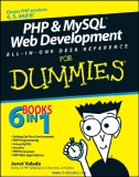 www.it-ebooks.info  .PHP & MySQL FOR  ®  Web Development ALL-IN-ONE DESK REFERENCE  DUMmIES  ‰  by Janet Valade with Tricia Ballad and Bill Ballad  www.it-ebooks.info  .www.it-ebooks.info  .PHP & MySQL FOR  ®  Web Development ALL-IN-ONE DESK REFERENCE  DU