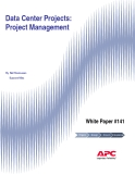 Data Center Projects:  Project Management