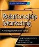 RELATIONSHIP MARKETING IN MASS MARKETS
